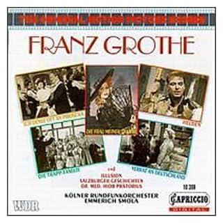 Franz Grothe Filmmusik / Film Scores by unknown (1995-12-01)