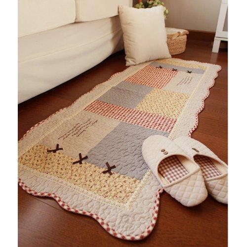 fadfay-home-textileelegant-rustic-vintage-floral-floor-matmodern-gingham-print-rugs-chinabranded-rug