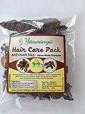 Yauvanya make at Home shampoo DIY Hair Care Kit (anti Hairfall, solfato & senza parabeni, 100% naturale, Chemical free)–3x 100gms