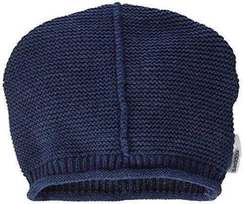 Noppies Unisex Baby Mütze U Hat Knit Glendale, Blau (Indigo Blue Melange C141), M...