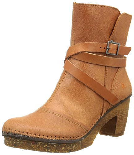 Damen Art Kurzschaft wax Orange Amsterdam Henna Stiefel vqwrdZxq