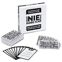 Noch-Nie-Habe-Ich-Trinkspiel-Kartenspiel-Never-Ever-Have-I-deutsche-Version-Gesellschaftsspiel-2-12-Spieler-XXL-Fassung-mit-300-Fragen