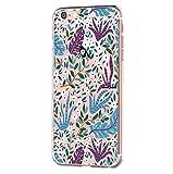 7Pite Hülle Case für Apple iPhone 6 Plus/iPhone 6S Plus, Sommer Design Flexibel Ultra Dünn Schutzhülle Silikon TPU Handyhülle Kratzfest Anti-Scratch für iPhone 6 Plus/iPhone 6S Plus (8)