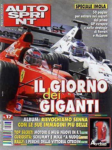 Autosprint Auto Sprint 17 Aprile Maggio 1999 Speciale Senna 5 anni dopo il ricordo
