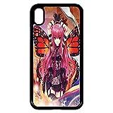 Générique Coque Apple iphone XR Fille Manga Rose