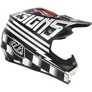 Troy Lee Designs Ace Air Off-Road/Dirt Bike Motorcycle Helmet - Black / Large