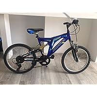 """CINZIA Vélo VTT Full Suspension Bi-amorti SPEEDRIDER 20"""""""