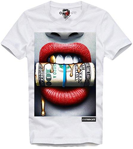 abd55efbfc82e5 E1Syndicate T Shirt Dollar Supreme Paris Obey Eleven Porno Technics