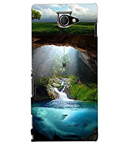 ColourCraft Creative Image Design Back Case Cover for SONY XPERIA M2 DUAL D2302
