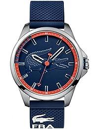 Lacoste Herren-Armbanduhr Analog Quarz Silikon 2010660