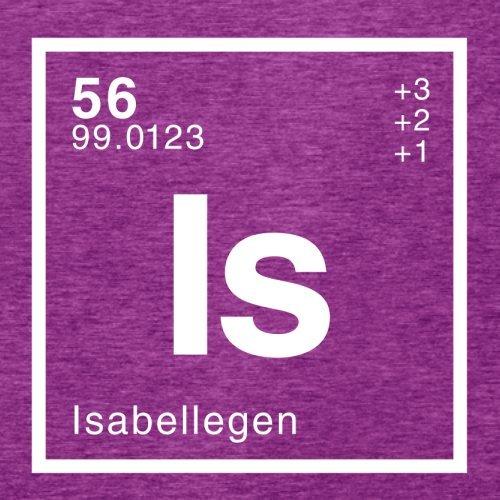 Isabelle Periodensystem - Damen T-Shirt - 14 Farben Beere
