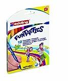 edding 4-15-12-1 Fasermaler Filzstifte e-15, 12er Set, Funtastic, circa 1 mm