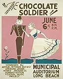Oscar Straus – WPA Poster 1936-41 The Chocolate Soldier Fine Art Print (45.72 x 60.96 cm)