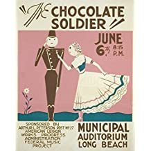 Oscar Straus – WPA Poster 1936-41 The Chocolate Soldier Artistica di Stampa (45,72 x 60,96 cm)