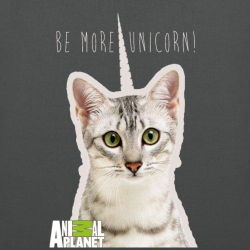 Spreadshirt Animale Pianeta Unicorno Panno Bebe Unicorno Borsa Di Stoffa Grafite