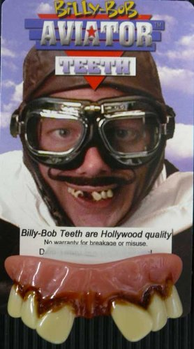 Aviators With Cavity (Billy-Bob Teeth) Fancy Dress