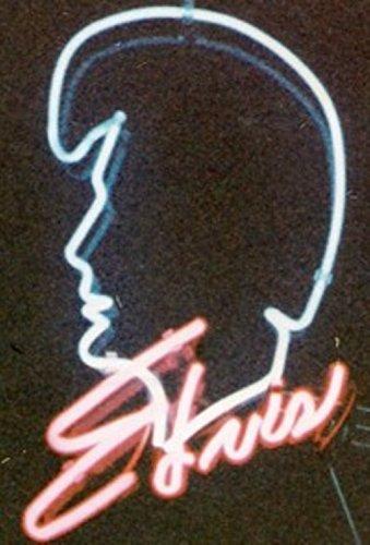 Elvis Presley Neon Neonschild Neonleuchte Leuchtschild Nachtlicht Barbeleuchtung sign no LED Neonreklame Werbung Reklame CD DVD Autogramm