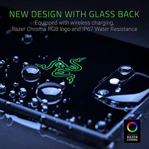Razer Phone 2 - Téléphone Flagship Débloqués pour le jeu mobile (Gaming Smartphone avec Écran UltraMotion 120Hz, Snapdragon 845 de Qualcomm , 64 Go Stockage, 8GB RAM & Eclairage RGB Chroma)