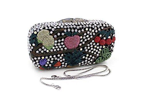 Dinner-Paket Europa und den Vereinigten Staaten Stil Damen Tasche Beutel Obst Paket Diamantbohrer 4 Farb color 3