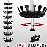 Generic yh-uk3–160920–591yh6001yh Pic Support Étagère à chaussures rangement à chaussures organiseur à chaussures de rangement Stor Chaussures Arbre RAC Carrousel Carrousel Arbre à chaussures étagère à chaussures télescopique