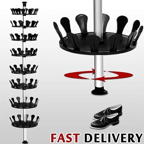 Generic yh-uk3–160920–591yh6001yh Pic Support Étagère à chaussures rangement à chaussures organiseur à chaussures de rangement Stor Chaussures Arbre RAC Carrousel Carrousel Arbre à chaussures étagère à chaussures