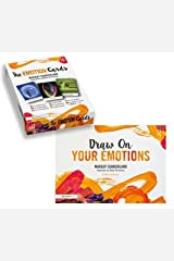 Draw On Your Emotions book and The Emotion Cards Spiral-bound