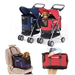 Valentina Valentti PET STROLLER, PUSHCHAIR FOR PETS IN PINK COLOUR, all in one pet stroller, pet carrier, dog car seat 11