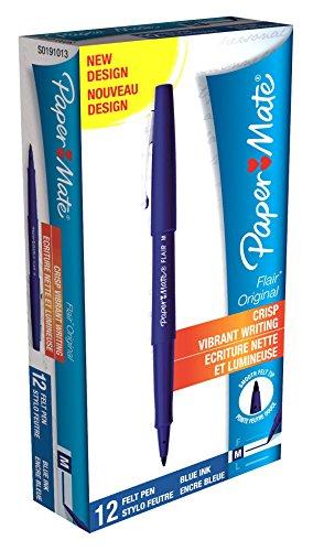 papermate-penna-nylon-con-clip-colore-blu