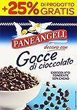 Paneangeli - Gocce Di Cioccolato Fondente, 50% Cacao, 125 G - [confezione da 10]