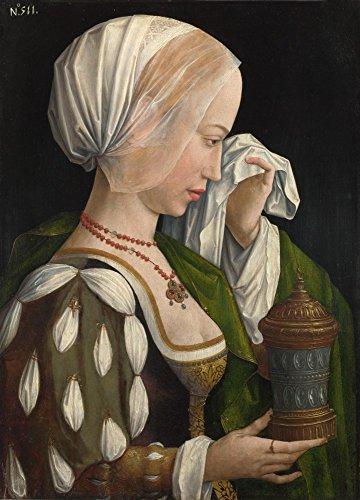 Das Museum Outlet-Workshop des Master der Magdalenen-Legende-Der Magdalenen-Weeping-Leinwanddruck Online kaufen (76,2x 101,6cm)