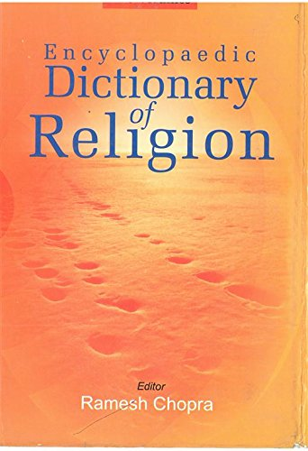 Encyclopedic Dictionary of Religion(Q-Z), Vol. 3 par Ramesh Chopra