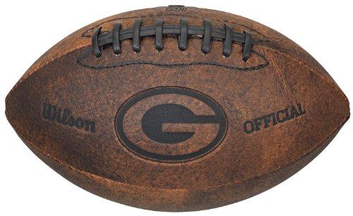 Gulf Coast Sales NFL Vintage Throwback Fußball, 22,9 cm, Spielzeuge und Schuhe, braun