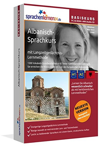 Sprachenlernen24.de Albanisch-Basis-Sprachkurs: PC CD-ROM für Windows/Linux/Mac OS X + MP3-Audio-CD...