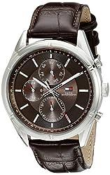 Tommy Hilfiger Mens 1791126 Sport Lux Analog Display Quartz Brown Watch