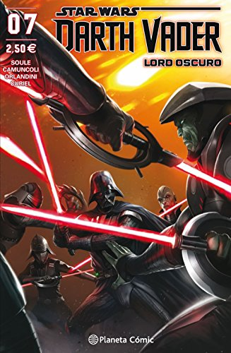 Star Wars Darth Vader Lord Oscuro nº 07 (Star Wars: Cómics Grapa Marvel)