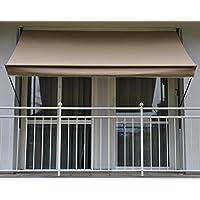 Angerer Klemmmarkise Style Taupe 150 x 200 x 225 cm, 2300/009