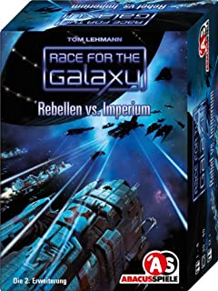ABACUSSPIELE 13093 - Race for The Galaxy - Rebellen vs. Imperium. 2. Erweiterung, Kartenspiel (B001VG6L8C) | Amazon price tracker / tracking, Amazon price history charts, Amazon price watches, Amazon price drop alerts