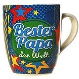 Tasse Bester Papa der Welt bunt
