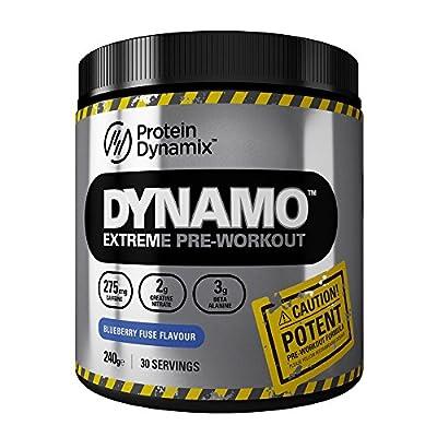 Protein Dynamix Dynamo Explosive Pre-Workout formula 240g by Protein Dynamix