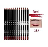 Telecharger Livres RICISUNG 12 pcs Glitter Levre Sourcils Eyeliner Crayon Stylo Cosmetique Maquillage Beaute Set Kit (PDF,EPUB,MOBI) gratuits en Francaise