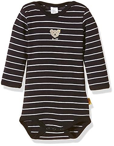 Steiff - mixte bébé - 0008743 Bodysuit 1/1 Sleeves, Bleu (Steiff Marine), nouveau née (Taille Fabricant :50)
