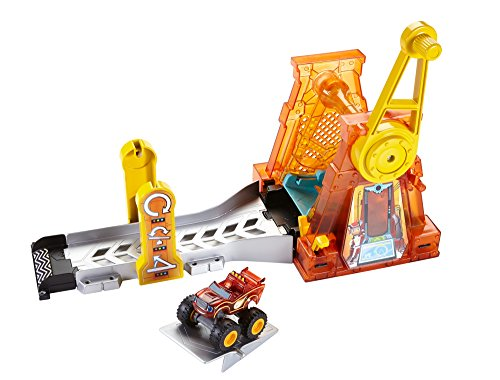 Preisvergleich Produktbild Blaze und die Monster Maschinen dtk34Light & Launch Hyper Loop Spielset