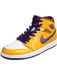 Nike Air Jordan 1 zapatos de baloncesto de mediana 554724-708