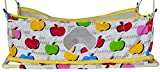 #3: Multipro Flat Bed Soft Cloth Swing New Born Baby Cradle/Ghodiyu Hammock in Cool Cotton With Mosquito Net (Yellow)
