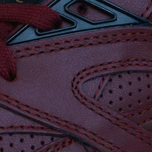 Puma R698 Leather Trinomic Herren Turnschuhe Burgundy