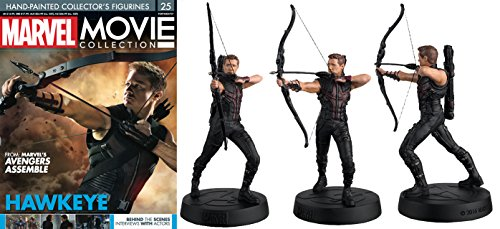FIGURA DE RESINA MARVEL MOVIE COLLECTION Nº 25 HAWKEYE