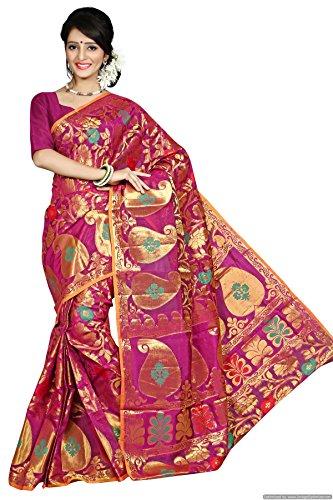 Kanchipuram Art Silk Saree(Dno-112-Rani)
