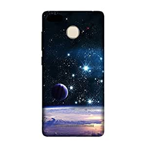 GADGETS WRAP printed Back cover for Redmi 3s Space night