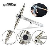 Espansore per tubo di rame, 4EVERHOPE Manuale Strumento espandibile per vari tubi Installazione del condizionatore d'aria Effettuare le riparazioni