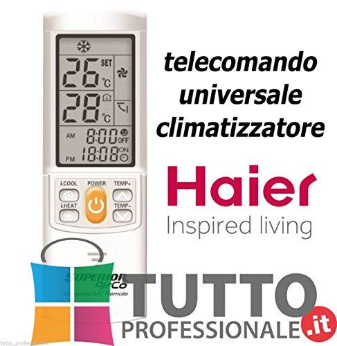 Telecomando universale condizionatore climatizzatore HAIER UNIVERSALE